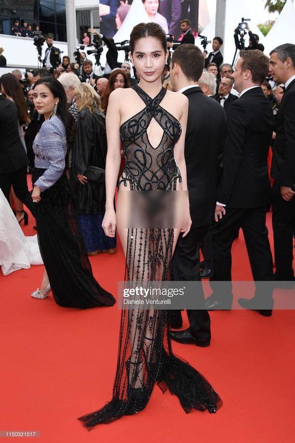Ngọc Trinh: Không cần có phim tranh giải, chỉ cần khoe hình thể quá đà tại Cannes là được báo chí quốc tế quan tâm? - Hình 3