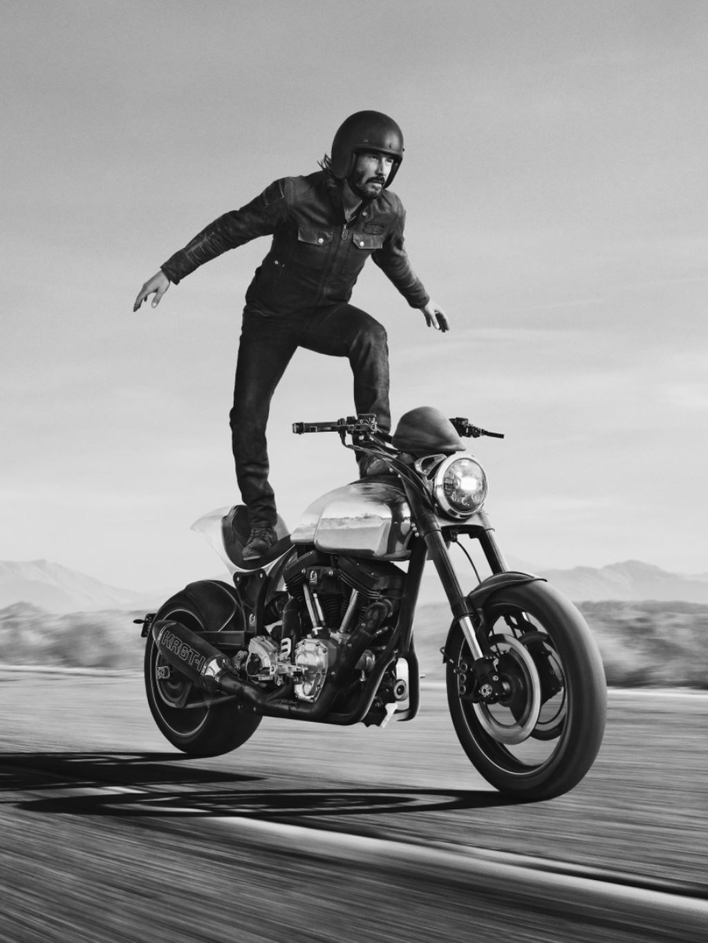 Sự thật sau clip diễn viên John Wick Keanu Reeves làm xiếc trên mô tô - Hình 5