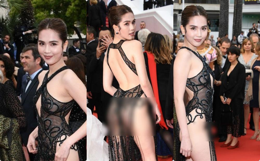 Bênh vực chiếc váy tàng hình của Ngọc Trinh, NSƯT Chiều Xuân - ca sĩ Vũ Hà bị nhận đá tảng chỉ vì bình luận ngược chiều số đông - Hình 1