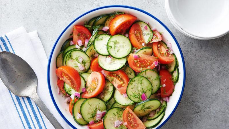 Bí kíp trộn salad thanh mát, dễ làm không cần tỷ lệ cho ngày nóng nực - Hình 1