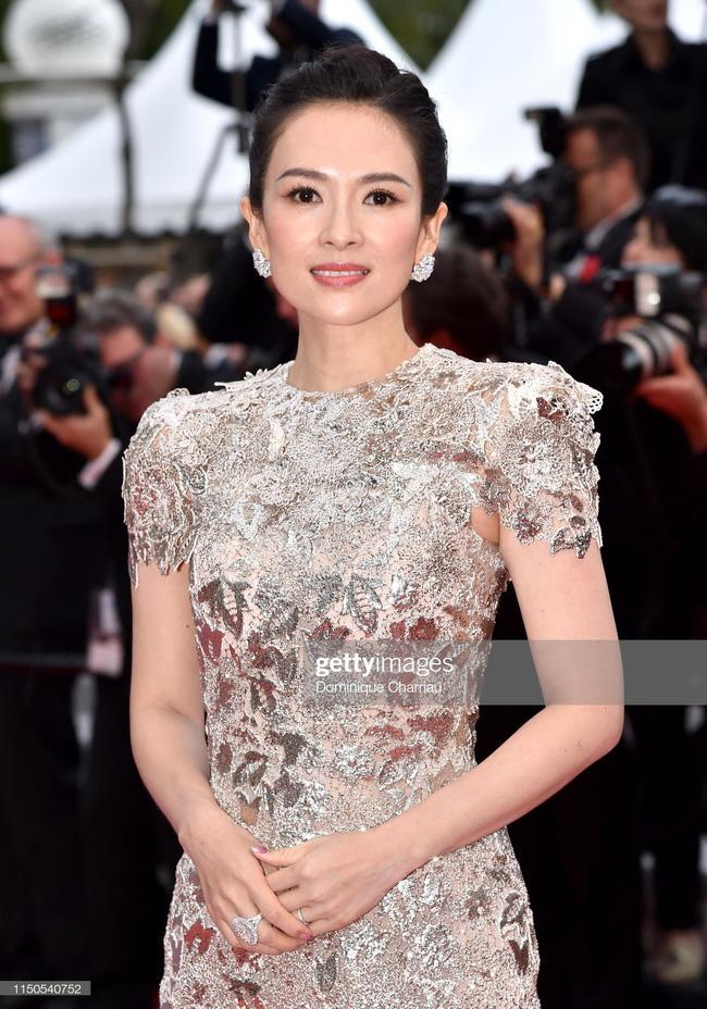 Chương Tử Di nhận vô số lời khen trên thảm đỏ Cannes: Thế này mới xứng đáng là mỹ nhân Trung Quốc - Hình 5