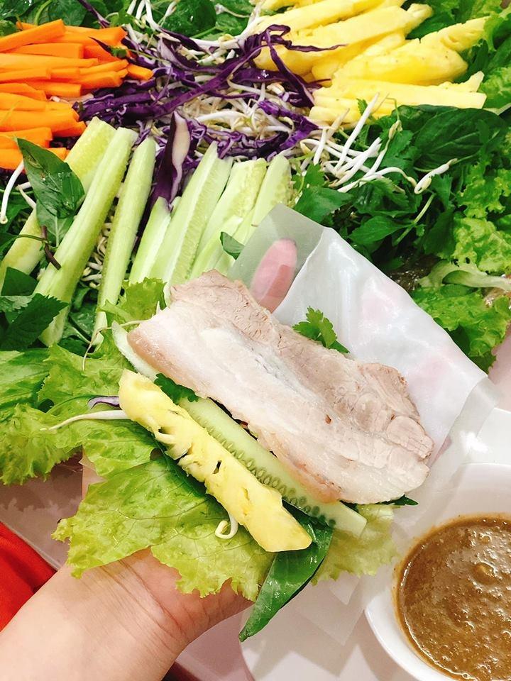 Hôm nay ăn gì: Bánh tráng cuốn thịt heo cho ngày nóng không muốn ăn cơm - Hình 4