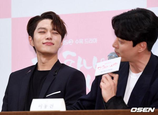 Họp báo Dan Only Love: Shin Hye Sun thùy mị bên L (Infinite) và tài tử Lee Dong Gun - Hình 20