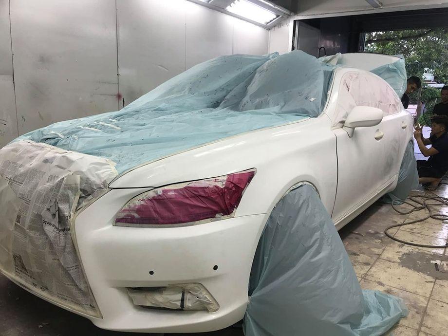 Nghệ An: Lexus LS 2007 cải lão hoàn đồng thành phiên bản 2017 vô cùng ấn tượng - Hình 7
