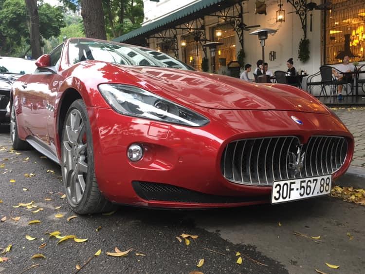 Vua đinh ba Maserati GranTurismo đeo biển sảnh đẹp mắt của nữ doanh nhân Hà Nội - Hình 1