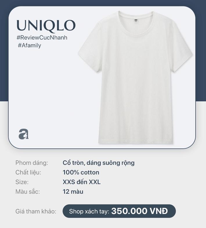 Áo phông trắng: Giá từ 149k đến 799k nhưng liệu khi mặc lên, mọi người có phân biệt được cái nào đắt cái nào rẻ - Hình 7