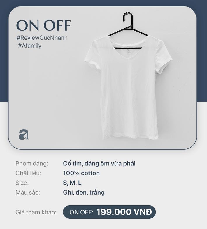 Áo phông trắng: Giá từ 149k đến 799k nhưng liệu khi mặc lên, mọi người có phân biệt được cái nào đắt cái nào rẻ - Hình 2
