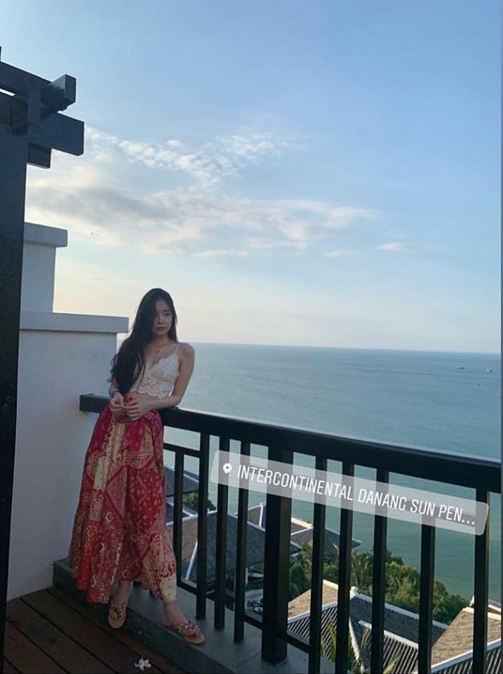 Bất ngờ chưa: Naeun (Apink) đang tận hưởng kỳ nghỉ mát tại Đà Nẵng, hào hứng khoe ảnh trên Instagram - Hình 2