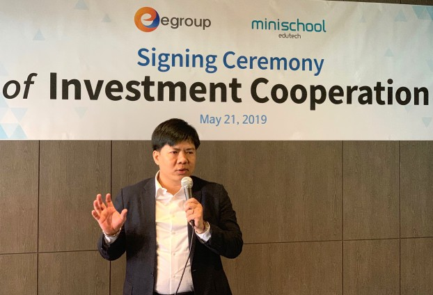 Bắt tay với startup Minischool, Shark Thủy chính thức đầu tư vào Hàn Quốc - Hình 1