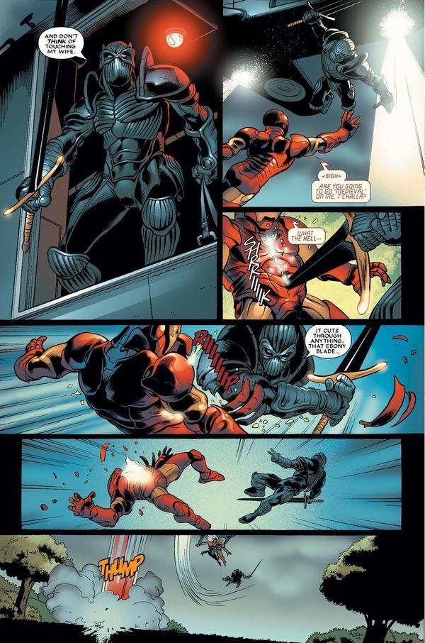 Black Panther vs Iron Man: Trong comics, ai sẽ là người chiến thắng? - Hình 6