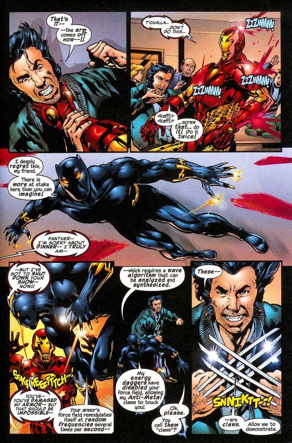 Black Panther vs Iron Man: Trong comics, ai sẽ là người chiến thắng? - Hình 2