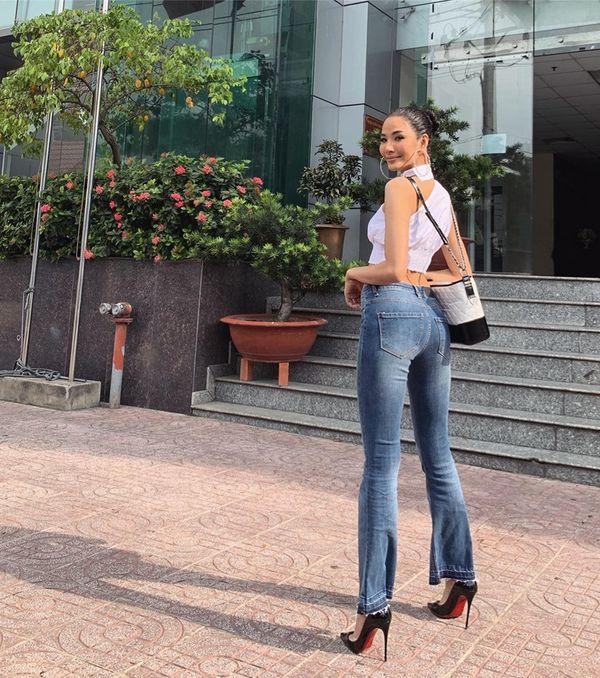 Hoàng Thùy lăng xê tóc búi, fan vote điên đảo: Quá chuẩn để in-top Miss Universe 2019 - Hình 4