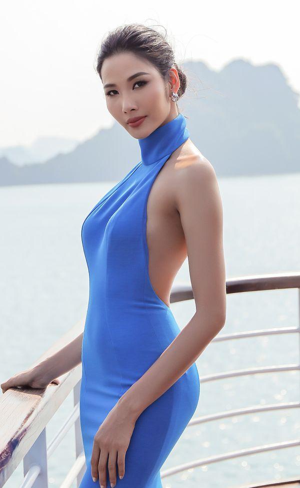 Hoàng Thùy lăng xê tóc búi, fan vote điên đảo: Quá chuẩn để in-top Miss Universe 2019 - Hình 1