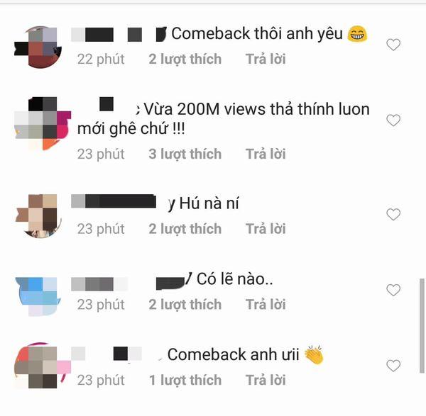 MV Lạc trôi cán mốc 200 triệu views, Sơn Tùng M-TP tung thính cực mạnh: Fan nghĩ tựa ca khúc mới là... - Hình 4