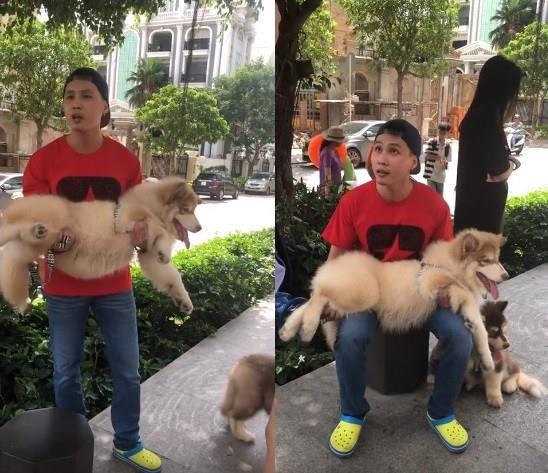 Nam thanh niên dắt chó dọa đánh bảo vệ ở Sài Gòn bị phạt 700.000 đồng - Hình 1