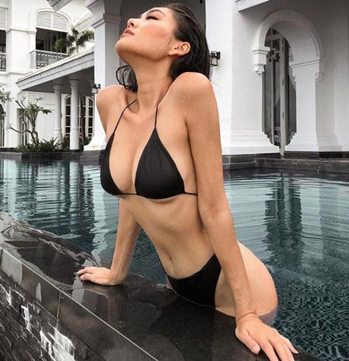 Ngắm thân hình nuột này của hot girl hội Rich Kid Việt Nam - Hình 2