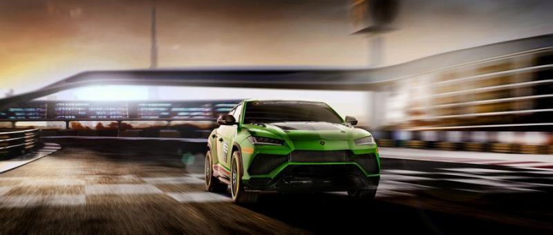 Phiên bản hiệu suất cao hơn của Lamborghini Urus sẽ dựa trên mẫu concept ST-X - Hình 4