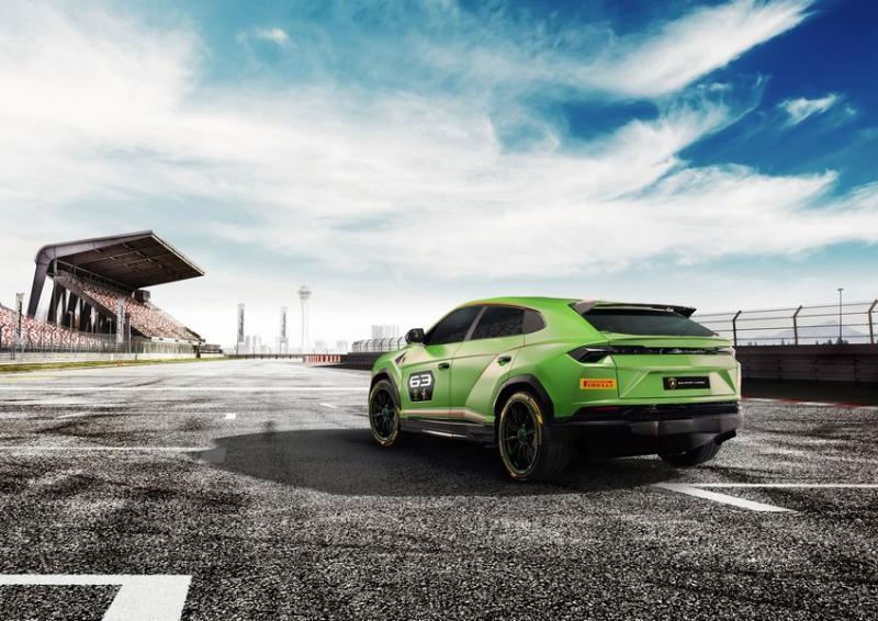 Phiên bản hiệu suất cao hơn của Lamborghini Urus sẽ dựa trên mẫu concept ST-X - Hình 2