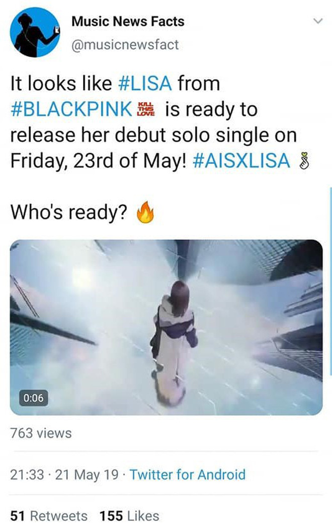 Rộ tin không phải Rosé, Lisa mới là người tiếp theo solo trong BLACKPINK: Thực hư thế nào? - Hình 1