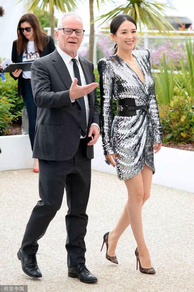 Thần thái đỉnh cao, Chương Tử Di tiếp tục tỏa sáng tại Cannes - Hình 4