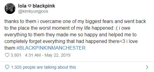 Tổ chức concert tròn 2 năm kể từ thảm họa đánh bom tại cùng địa điểm với Ariana Grande, BLACKPINK đã có những hành động tinh tế thế nào? - Hình 4