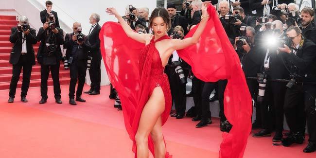 Top váy mặc như không tại Cannes 2019: Kẻ gợi cảm tuyệt đỉnh, người gây nhức mắt - Hình 2