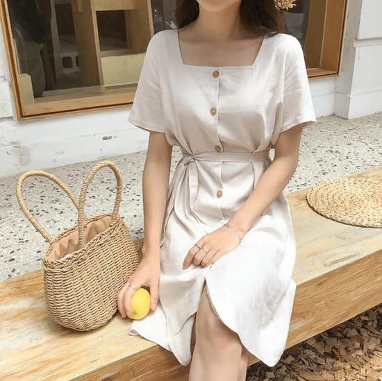 Váy áo thắt eo cho mùa hè - Hình 6