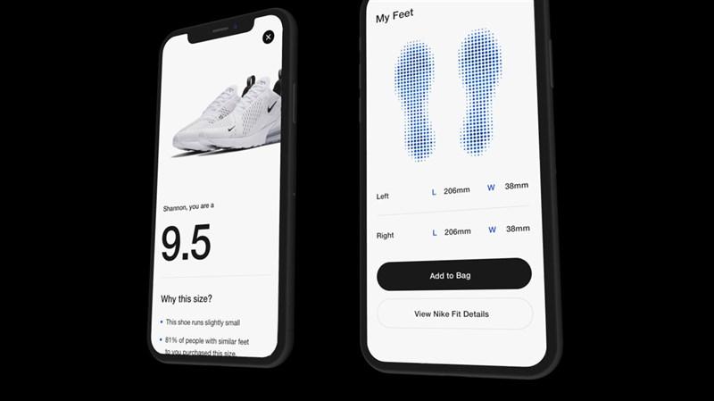 Với ứng dụng Nike FIT, bạn sẽ không còn lo chọn nhầm size giày - Hình 4