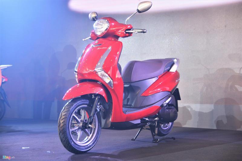Yamaha Latte liệu có thể gây áp lực cho Honda Lead ở phân khúc xe tay ga cho nữ? - Hình 2