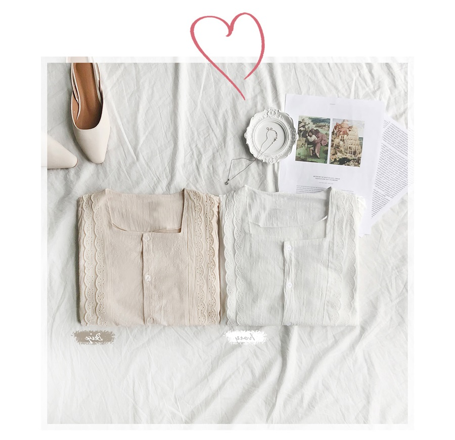7 mẫu áo blouse không thể bỏ qua trong hè này, hễ mặc lên là auto xinh xắn - Hình 4