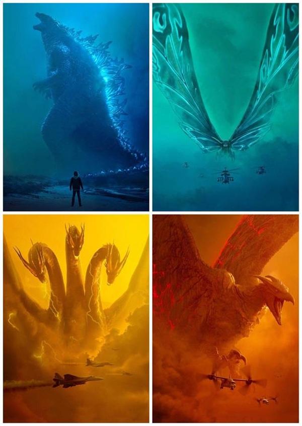 Giải mã sức mạnh khủng khiếp của các siêu quái vật chính xuất hiện trong Chúa tể Godzilla - Hình 1