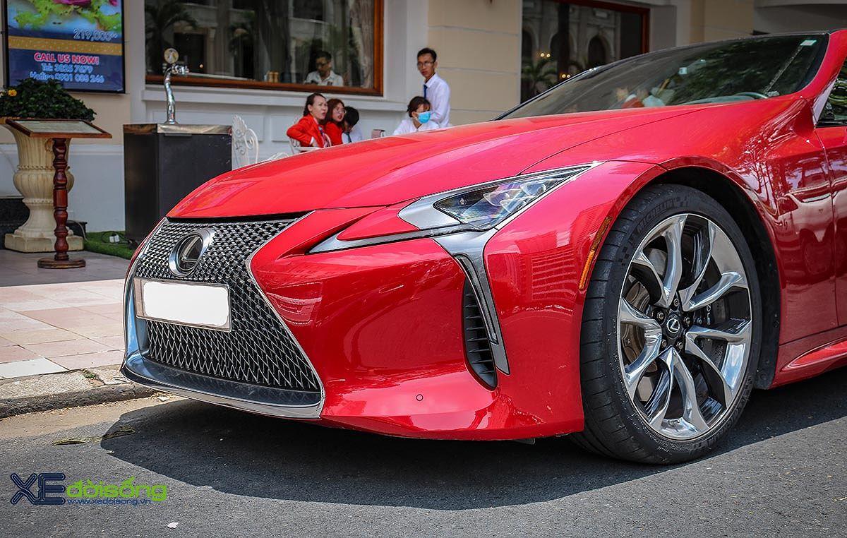 Hàng độc Lexus LC500 trên phố Sài Gòn, đường nét sắc như kiếm Katana Nhật Bản - Hình 5