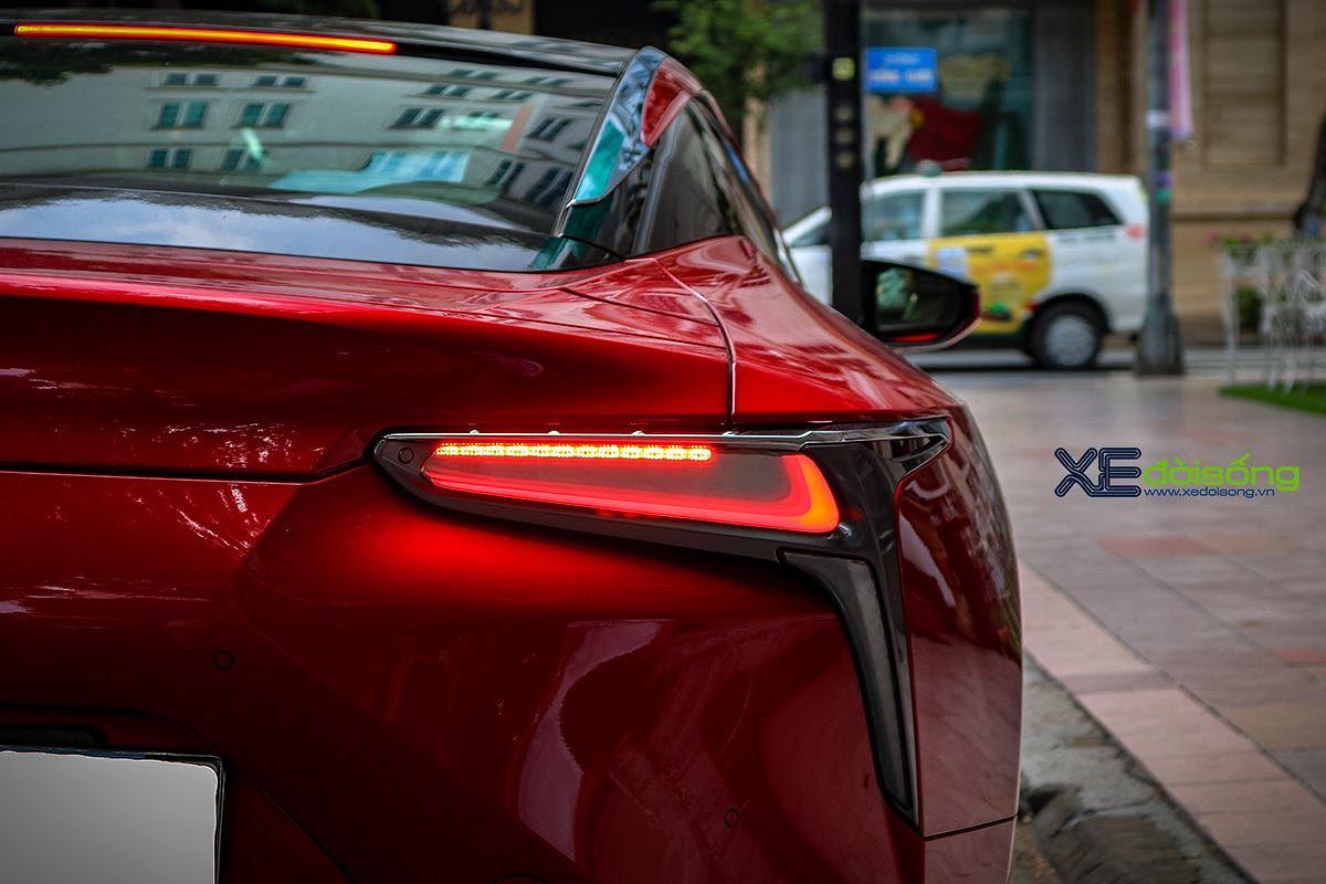 Hàng độc Lexus LC500 trên phố Sài Gòn, đường nét sắc như kiếm Katana Nhật Bản - Hình 10