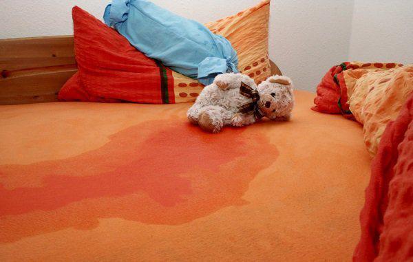 Mách mẹ cách xử triệt để vết ố và mùi khai do nước tiểu của trẻ trên chăn đệm - Hình 1