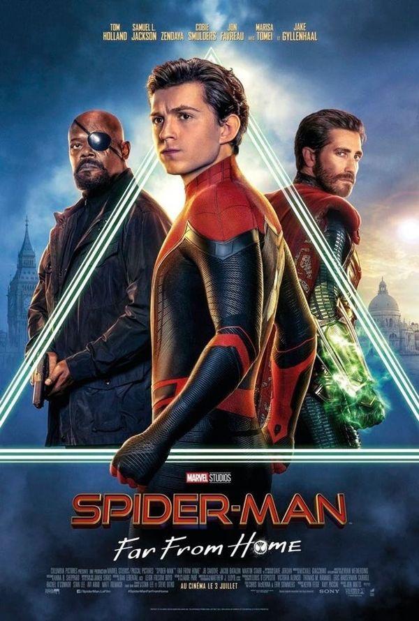 Marvel tung bộ poster chính thức của Spider Man: Far From Home - Hình 5