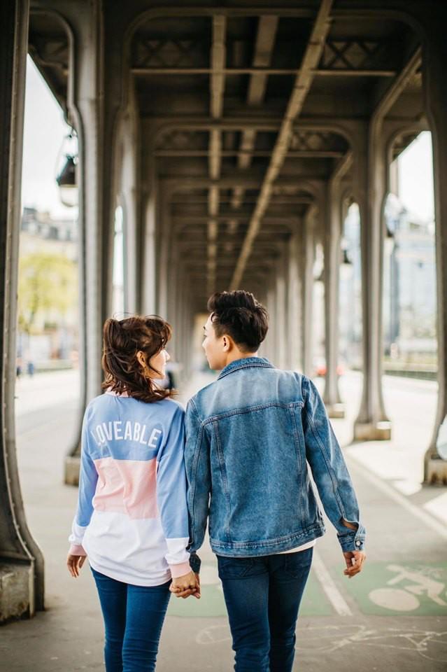 Ngắm trọn bộ ảnh đẹp như phim Hàn của Trấn Thành - Hari Won tại Paris hoa lệ - Hình 2