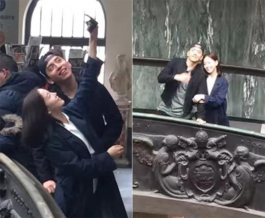 Nhiều lần phủ nhận, mỹ nhân Hoa hậu Hàn bị bắt gặp sang hẳn Thượng Hải hẹn hò, vào khách sạn với tài tử xứ Đài? - Hình 6