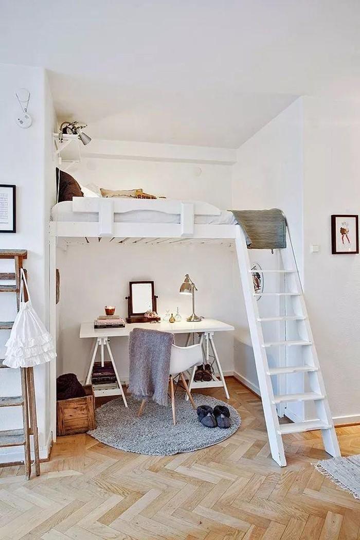 Những chiếc giường tiết kiệm không gian một cách hoàn hảo - Hình 10