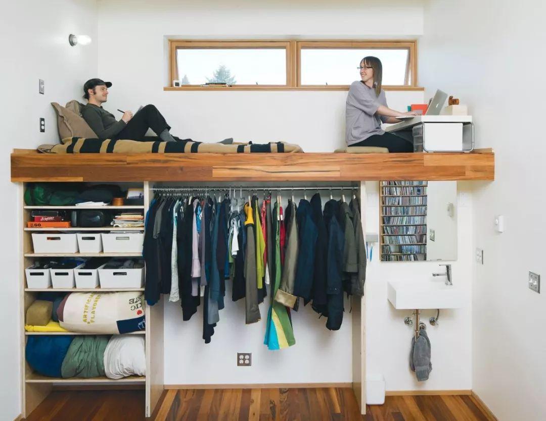 Những chiếc giường tiết kiệm không gian một cách hoàn hảo - Hình 4