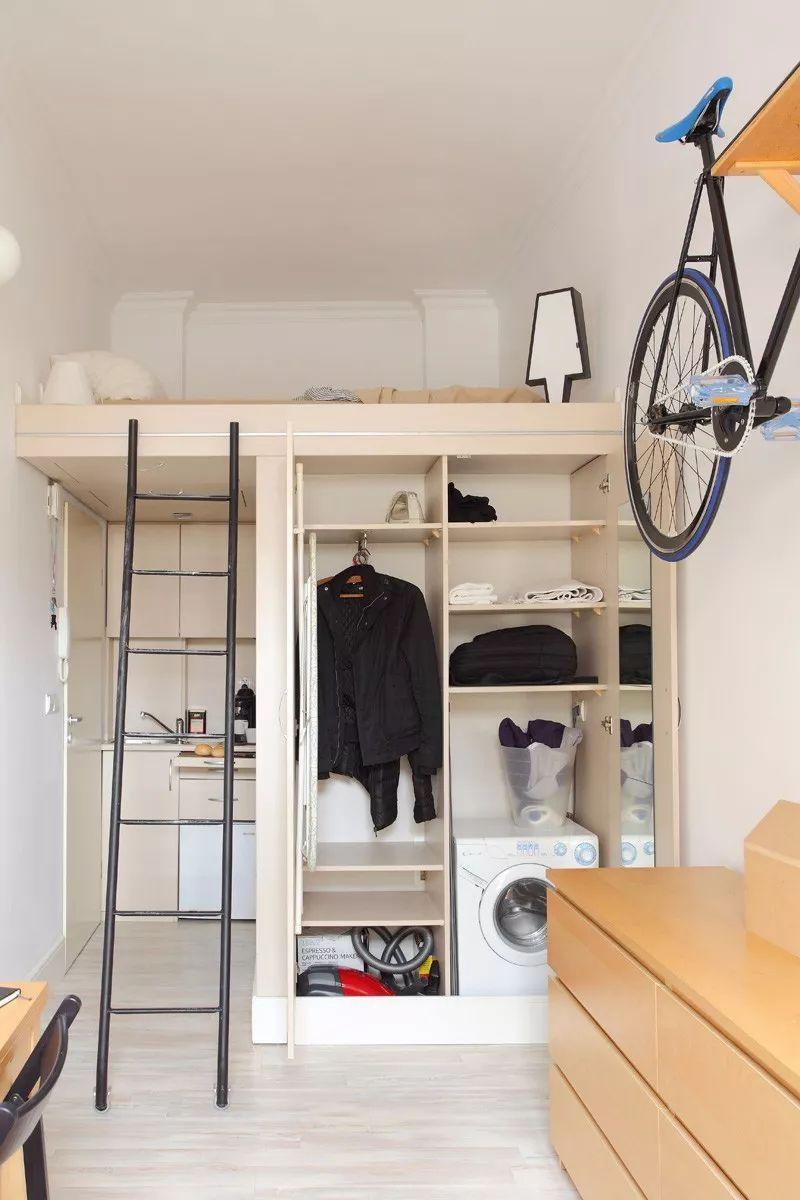 Những chiếc giường tiết kiệm không gian một cách hoàn hảo - Hình 17