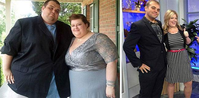 Những màn lột xác vịt hóa thiên nga của các cặp đôi chứng minh chân lý đồng vợ đồng chồng béo đến mấy cũng giảm cân thành công - Hình 1