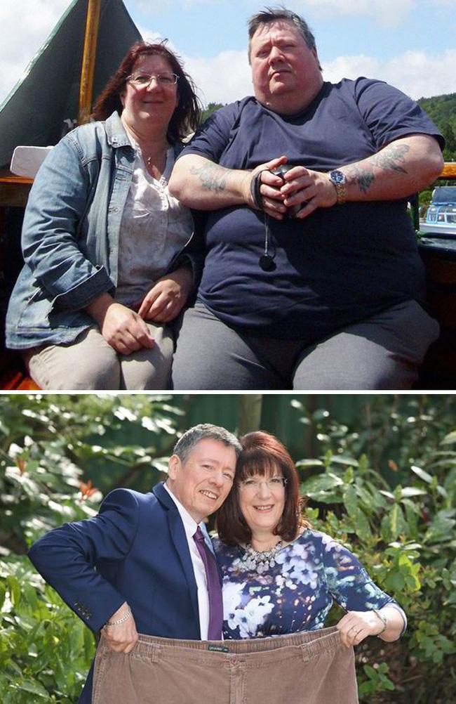Những màn lột xác vịt hóa thiên nga của các cặp đôi chứng minh chân lý đồng vợ đồng chồng béo đến mấy cũng giảm cân thành công - Hình 6