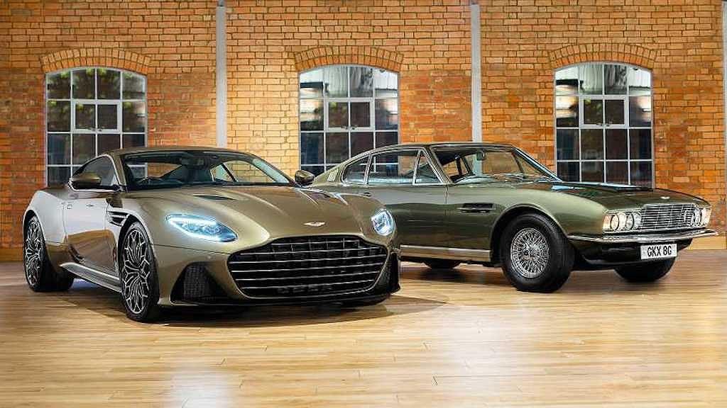 Siêu xe đặc biệt Aston Martin DBS Superleggera OHMSS Edition giúp bạn sành điệu như điệp viên 007 - Hình 1