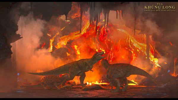 Vua khủng long: Phiêu lưu đến vùng núi lửa đầy hứa hẹn cho tương lai phim hoạt hình Hàn Quốc - Hình 9
