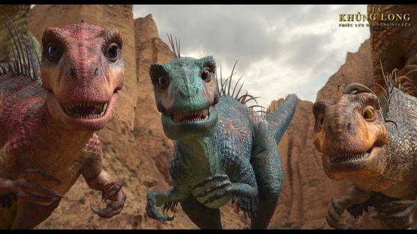 Vua khủng long: Phiêu lưu đến vùng núi lửa đầy hứa hẹn cho tương lai phim hoạt hình Hàn Quốc - Hình 3