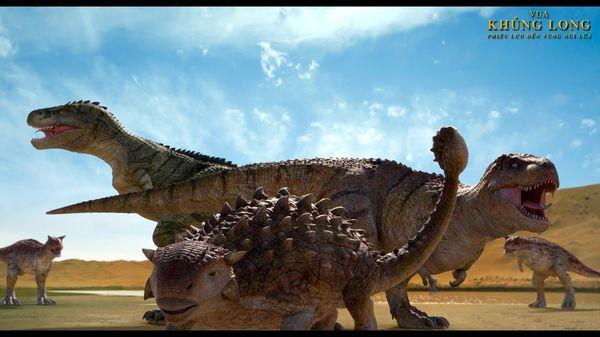 Vua khủng long: Phiêu lưu đến vùng núi lửa đầy hứa hẹn cho tương lai phim hoạt hình Hàn Quốc - Hình 5