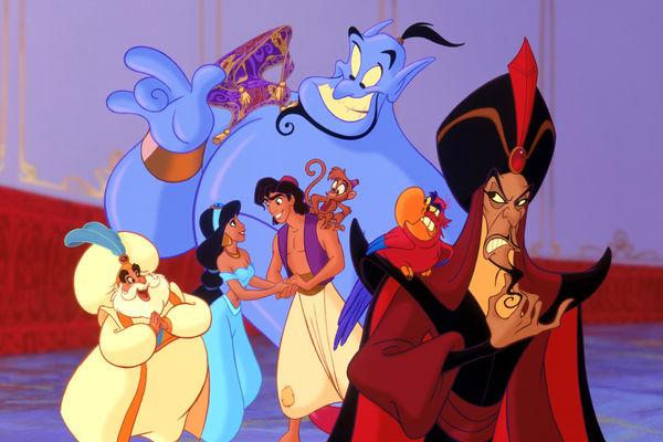 Bạn có biết điều gì xảy ra với Thần Đèn ở cuối phim Aladdin bản hoạt hình năm 1992? - Hình 2