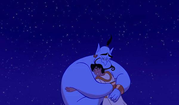 Bạn có biết điều gì xảy ra với Thần Đèn ở cuối phim Aladdin bản hoạt hình năm 1992? - Hình 4