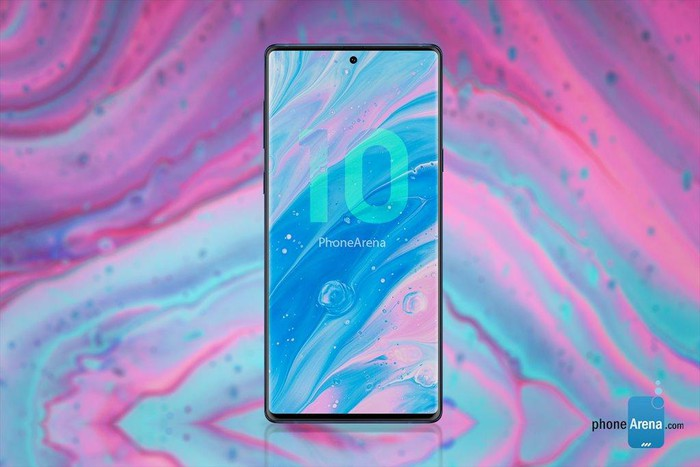 Bản dựng Galaxy Note 10 siêu đẹp với 4 camera dọc - Hình 5