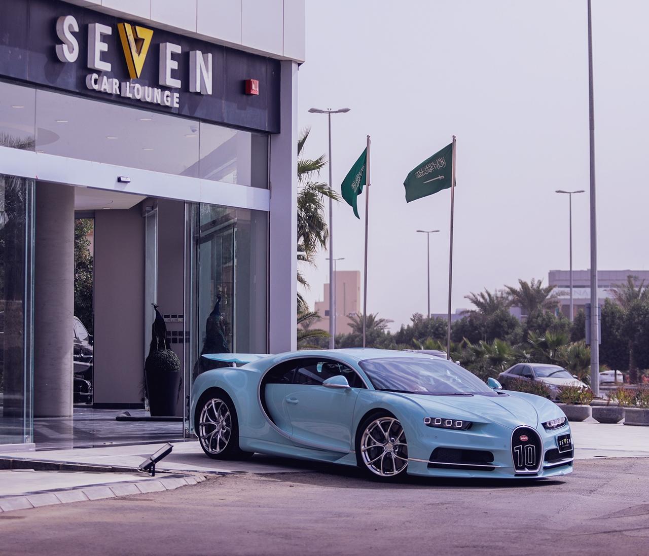 Bugatti Chiron có 1 không 2 trên thế giới đang được chào bán ở Ả-Rập Xê-út - Hình 5